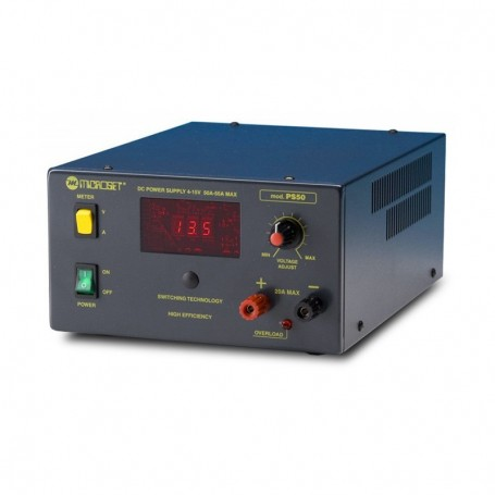 Microset PS50 alimentatore regolabile alta qualità