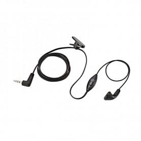Yaesu SSM-57A Microfono Lapel compatto con auricolare