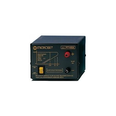 Microset PT 105A Linear Power Supply