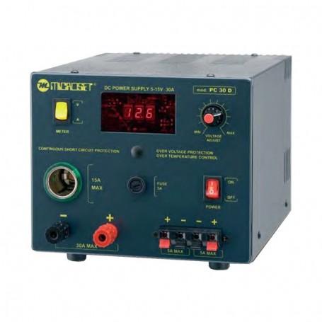 Microset PC 30D alimentatore regolabile