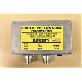 VHF LOW NOISE PREAMPLIFIER